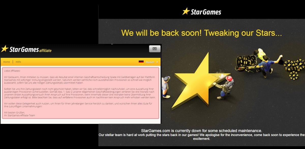 stargames schließt