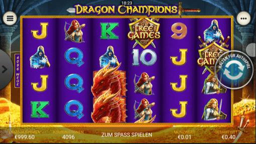 dragon champions mobil