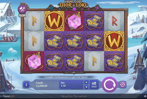Spiele Viking Gods: Thor And Loki - Video Slots Online