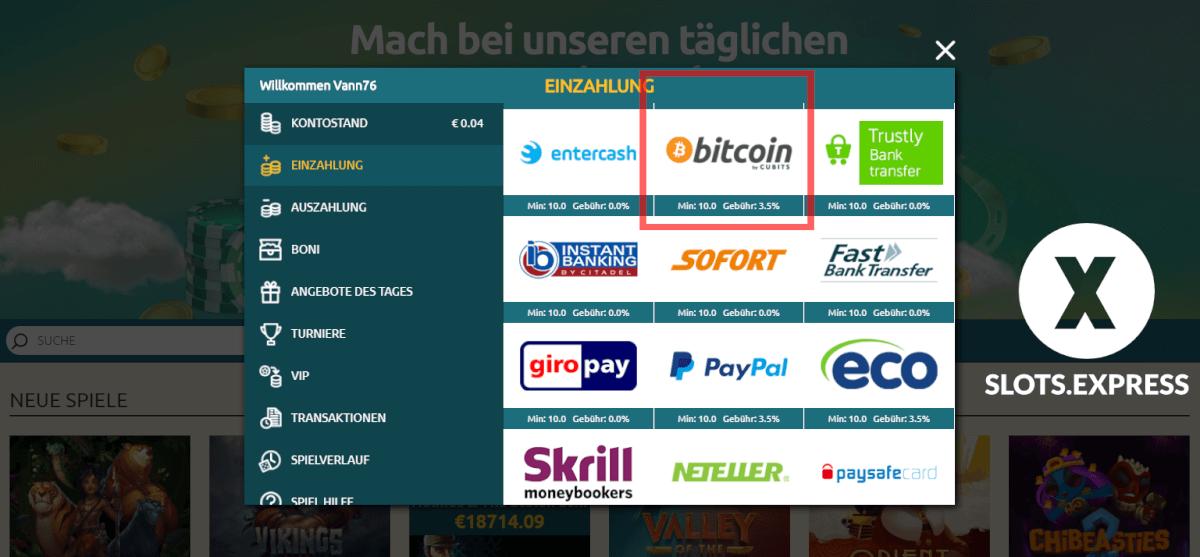 drückglück bitcoin