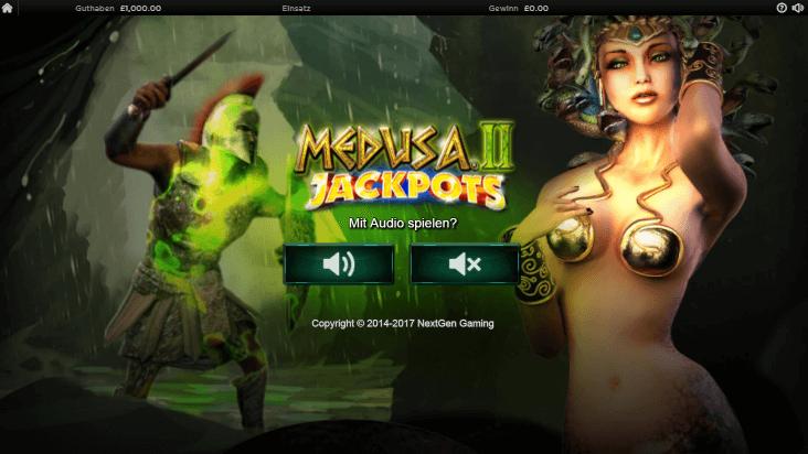 Medusa II Jackpots mobil
