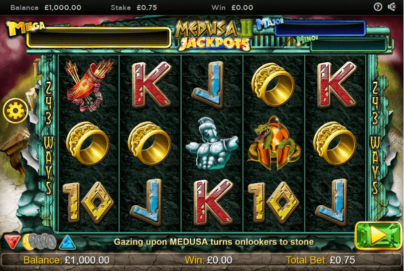 Medusa 2 Jackpots
