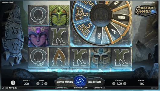 asgardian stones special feature bonus wheel