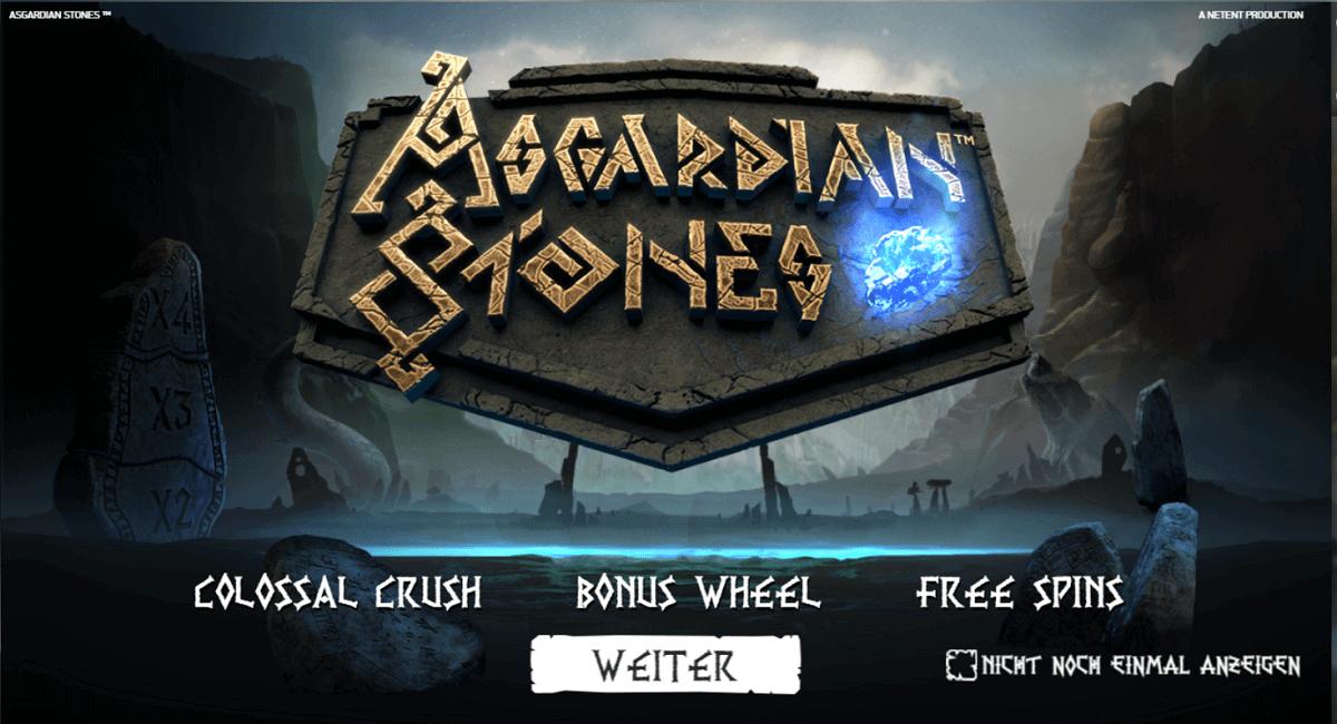 asgardian stones spielautomat netent