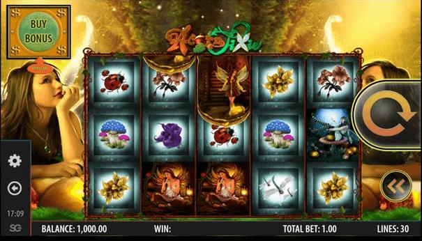 Acorn Pixie Slot mobil