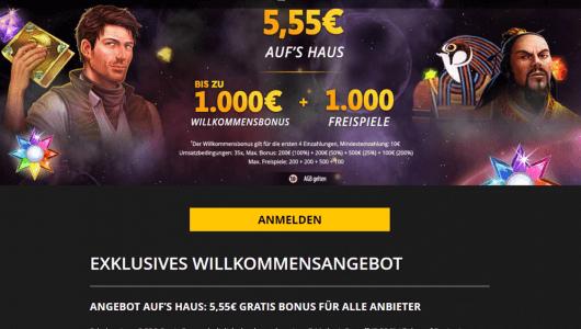 Lvbet 5,55 euro bonus