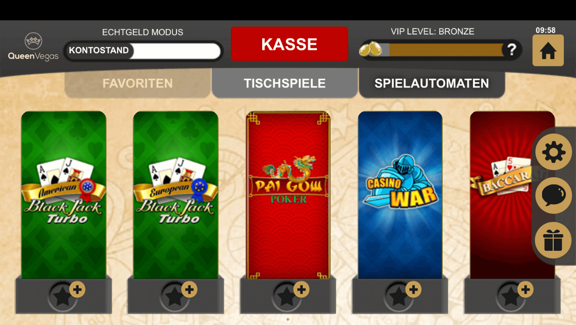 QueenVegas Casino App