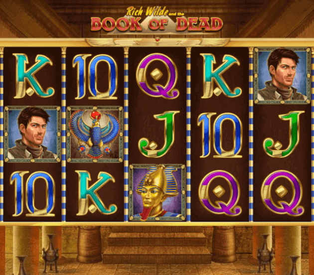 Book of Dead QueenVegas Casino