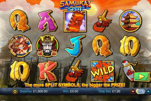 Spiele Samurai Split 9663 - Video Slots Online