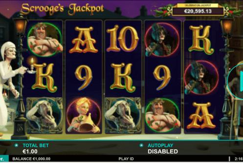 Scrooges Jackpot Mobil
