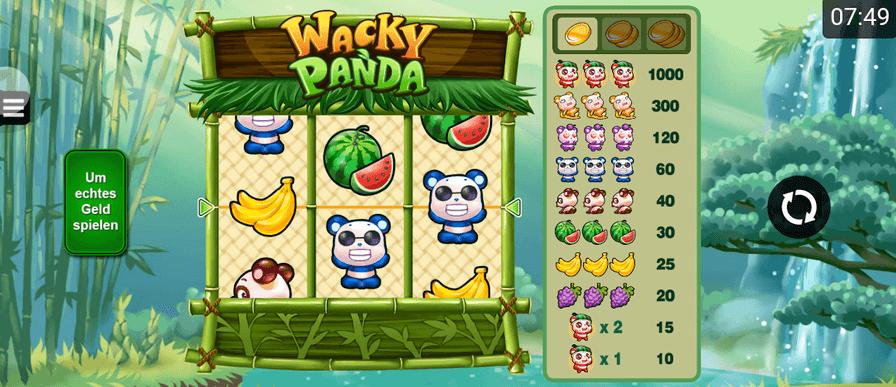 Wacky Panda Mobil