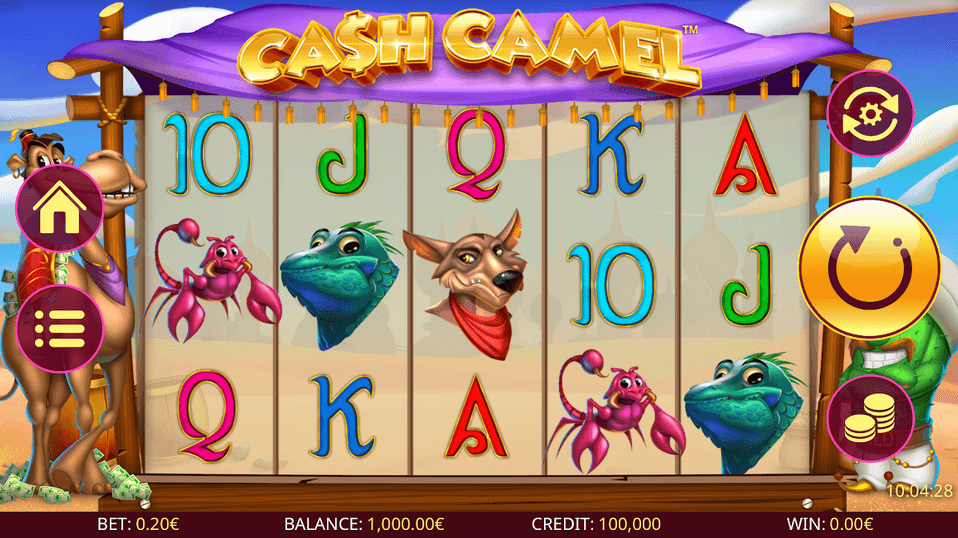 Cash Camel Slot mobil