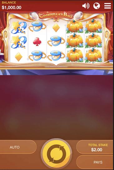 Cinderella's Ball mobil Slot