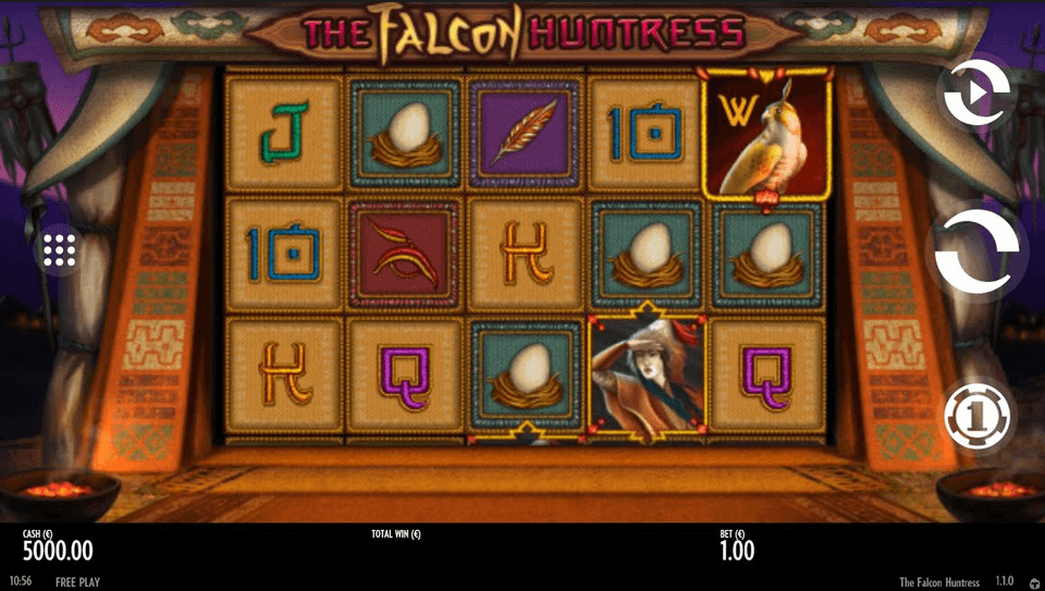 The Falcon Huntress Slot mobil