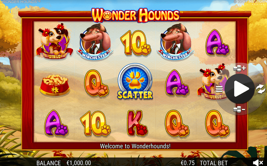 Wonder Hounds Slot mobil