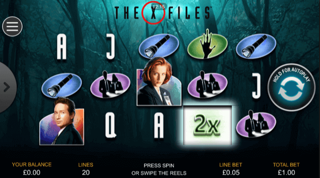 The X Files Slot mobil