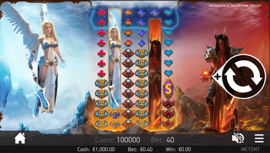 archangales: salvation slot mobil