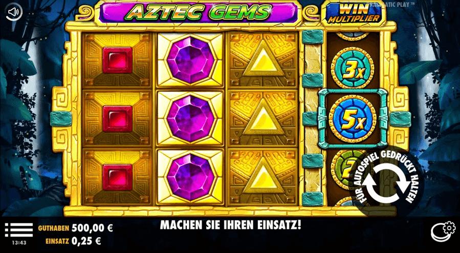 Aztec Gems Slot Mobil