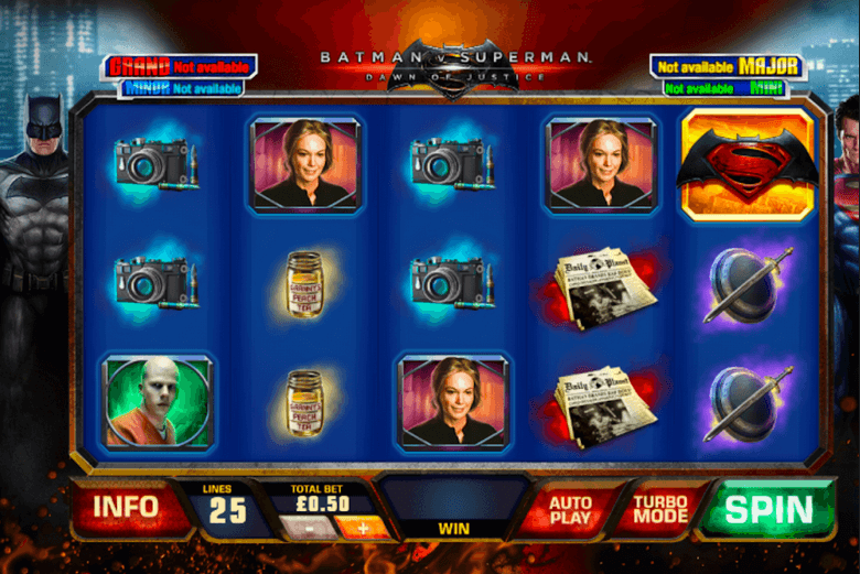 Batman v Superman Slot