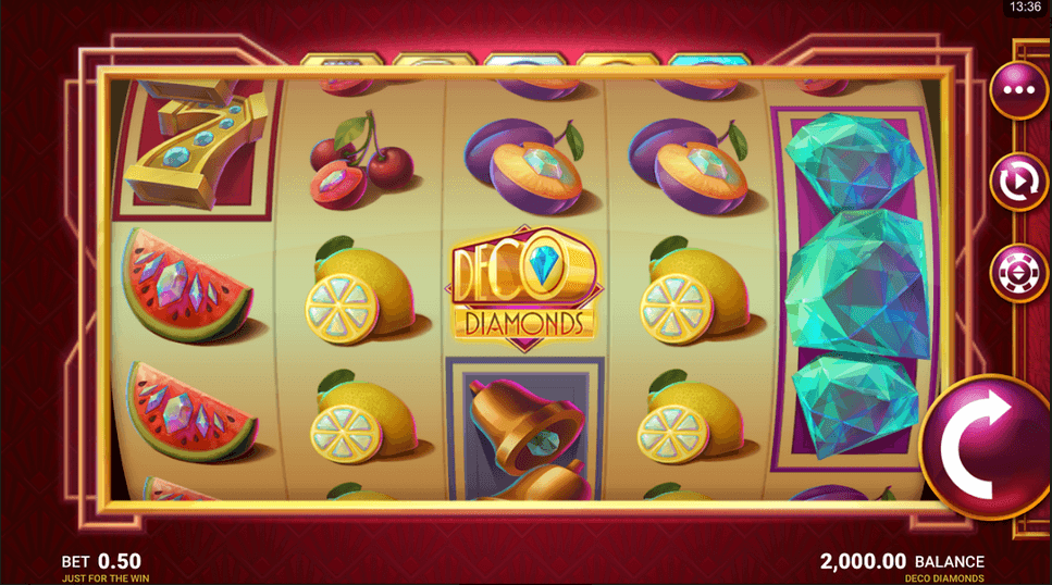 Deco Diamonds mobil Slot