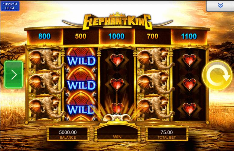 Elephant King Slot mobil