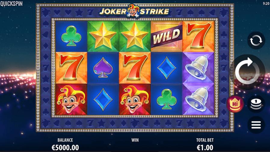 Joker Strike Slot mobil