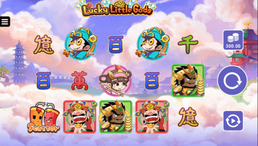 Lucky Little Gods Slot