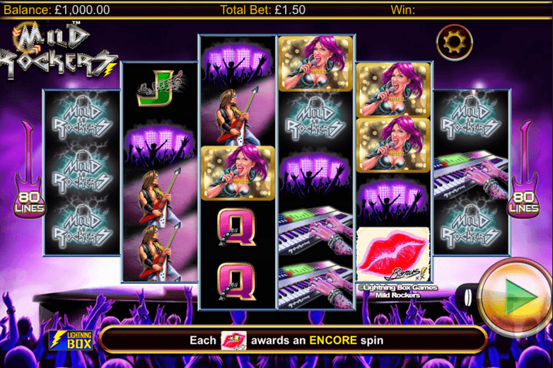 Mild Rockers Slot mobil