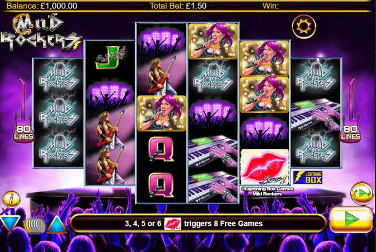 Mild Rockers Slot