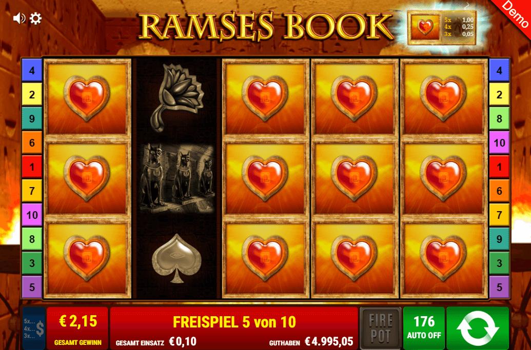 Ramses Book Freispiele