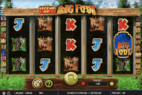 The Legend of Big Foot Slot