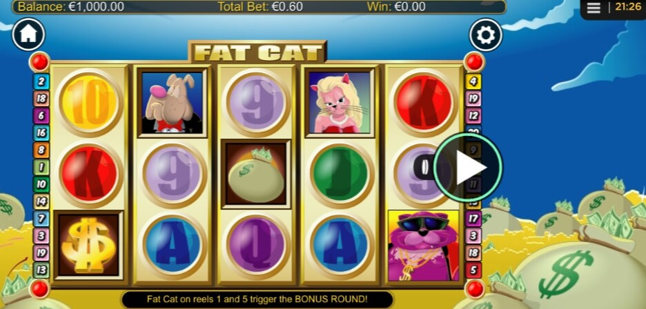 fat cat slot mobil