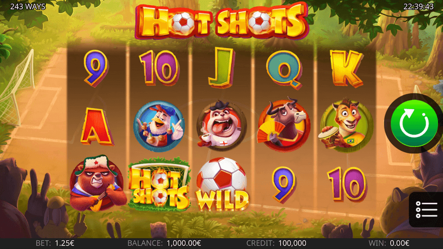 hot shots slot mobil