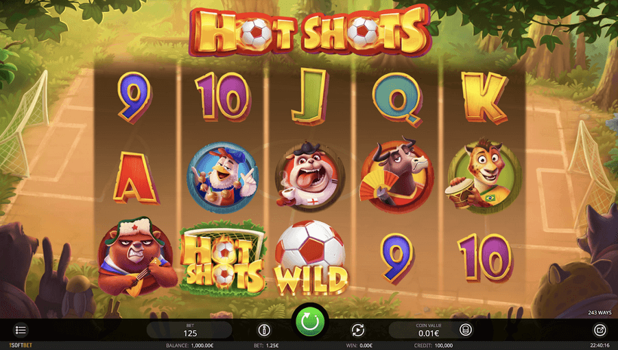 hot shots slot