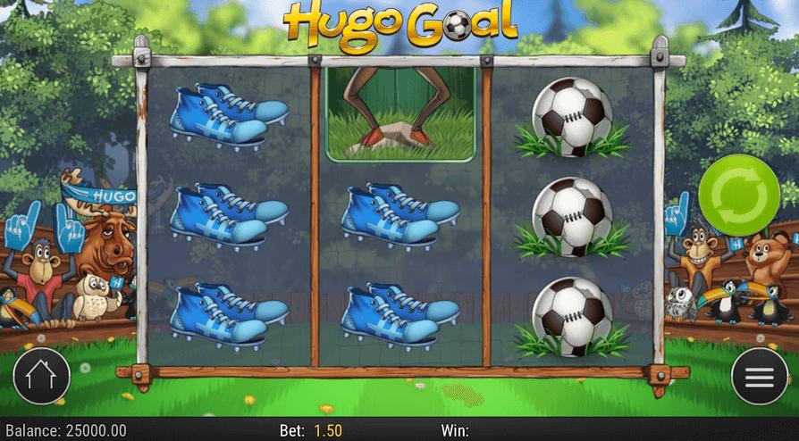 Hugo Goal Slot mobil