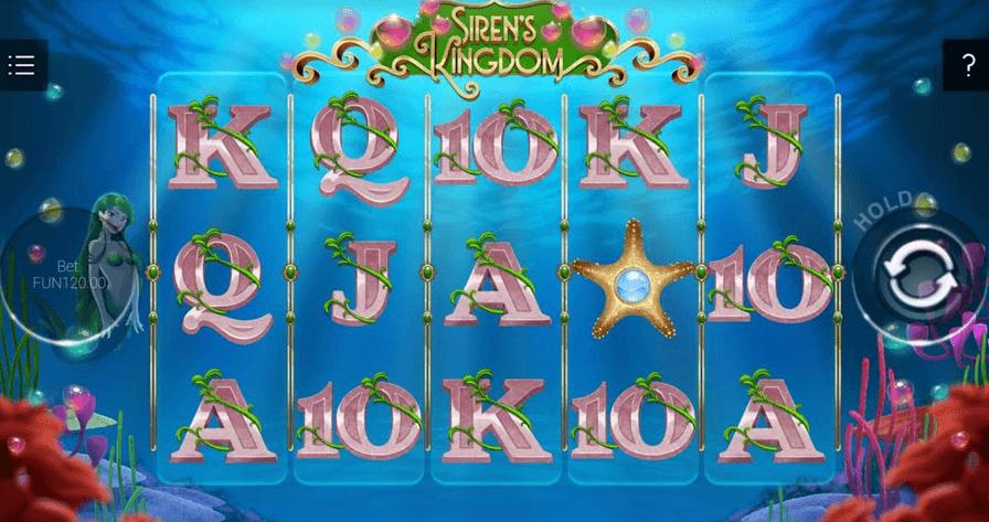 Siren's Kingdom Slot mobil