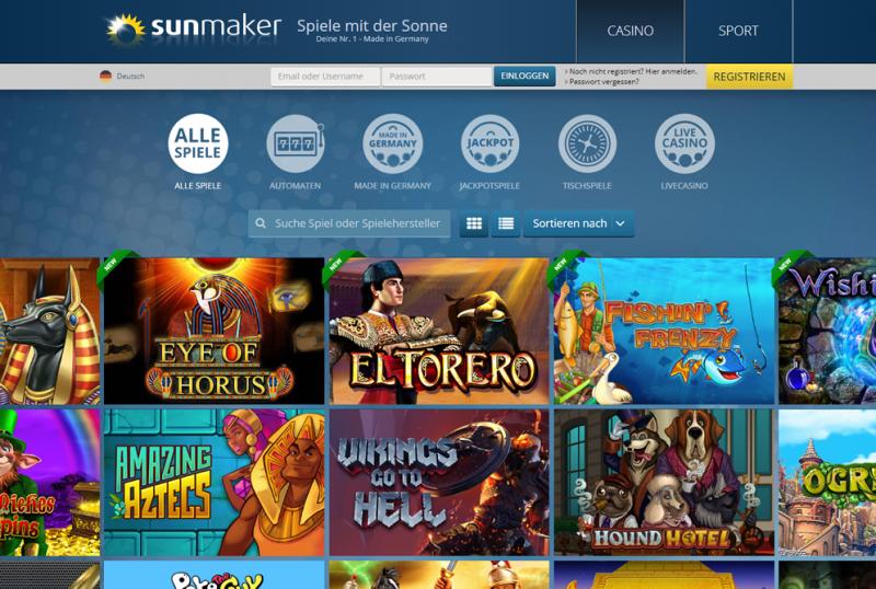 Sun Maker Merkur Spiele