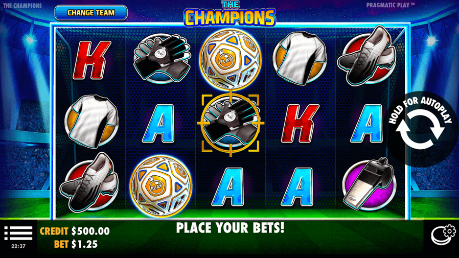 The Champions Slot mobil