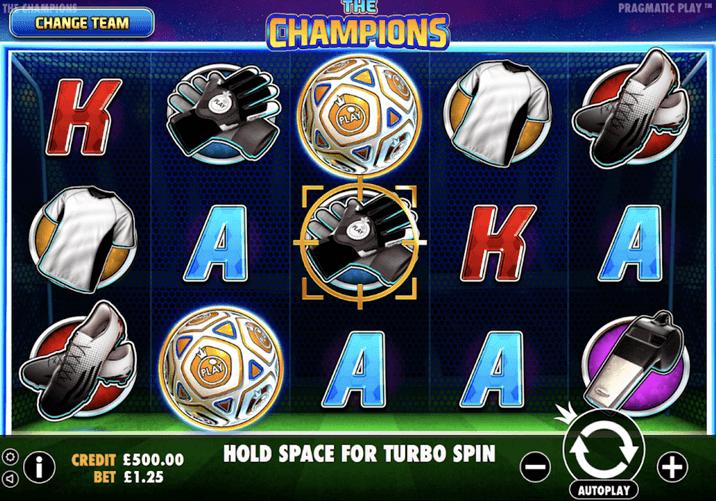 The Champions Slot