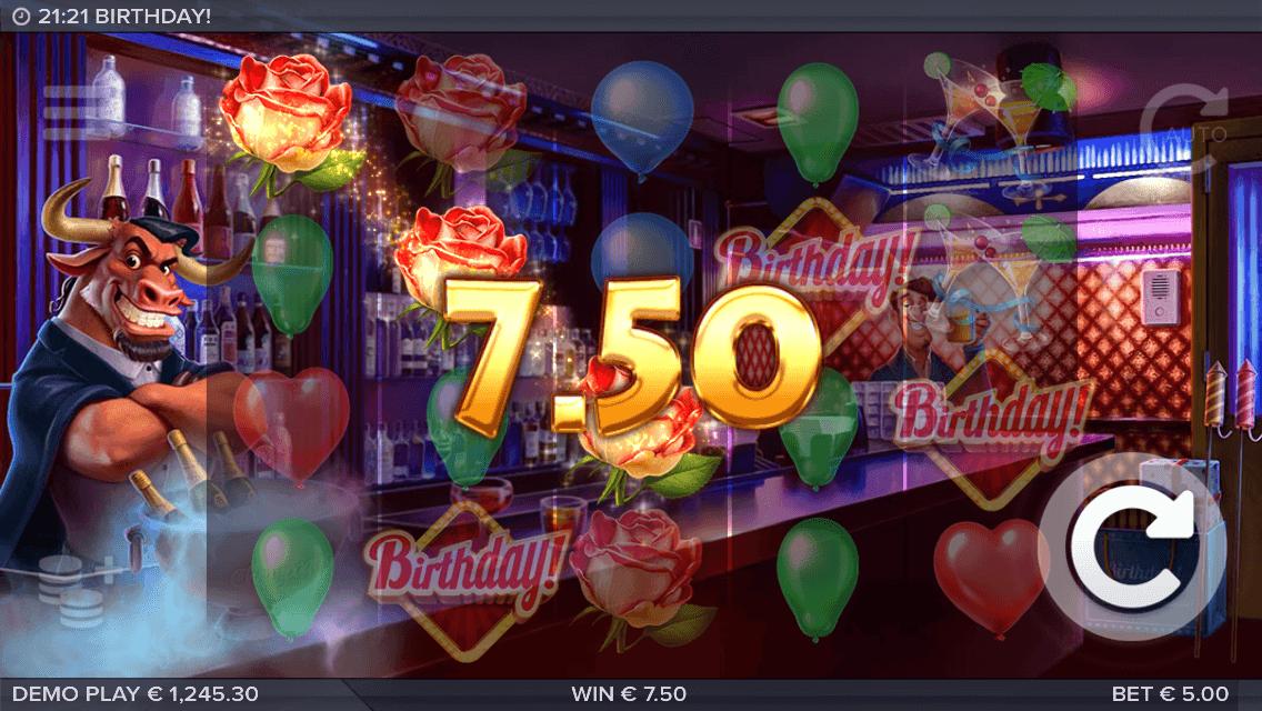 birthday! slot mobil