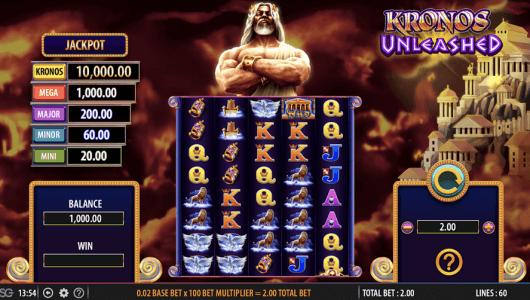 Kronos Unleashed slot
