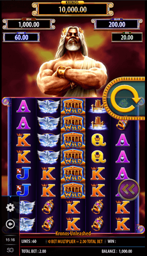 Kronos Unleashed slot mobil