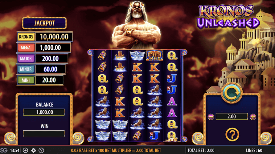 Kronos Unleashed slot