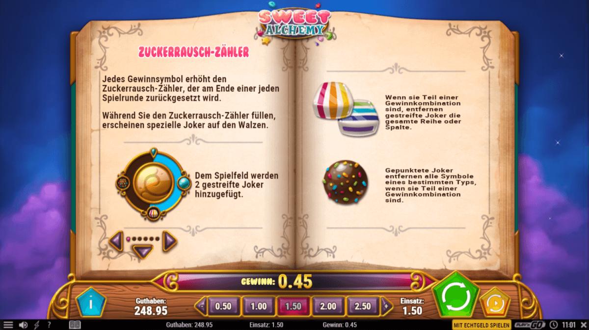 Sweet Alchemy - Zuckerrausch-Zähler