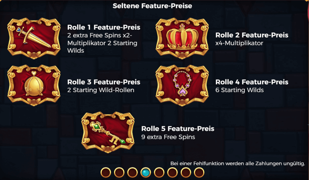 The Royal Family - Seltene Feature-Preise