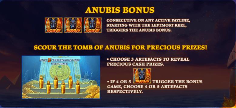 Age of Egypt - Anubis Bonus