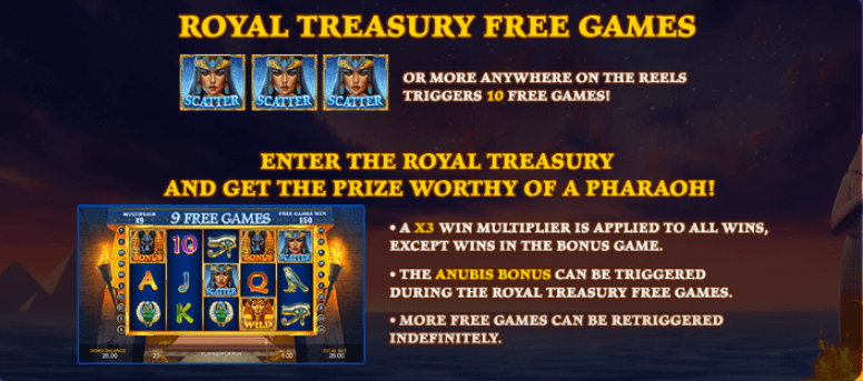 Age of Egypt - Royal Treasury Free Games