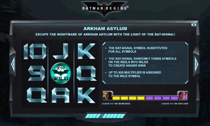 Batman Begins - Arkham Asylum