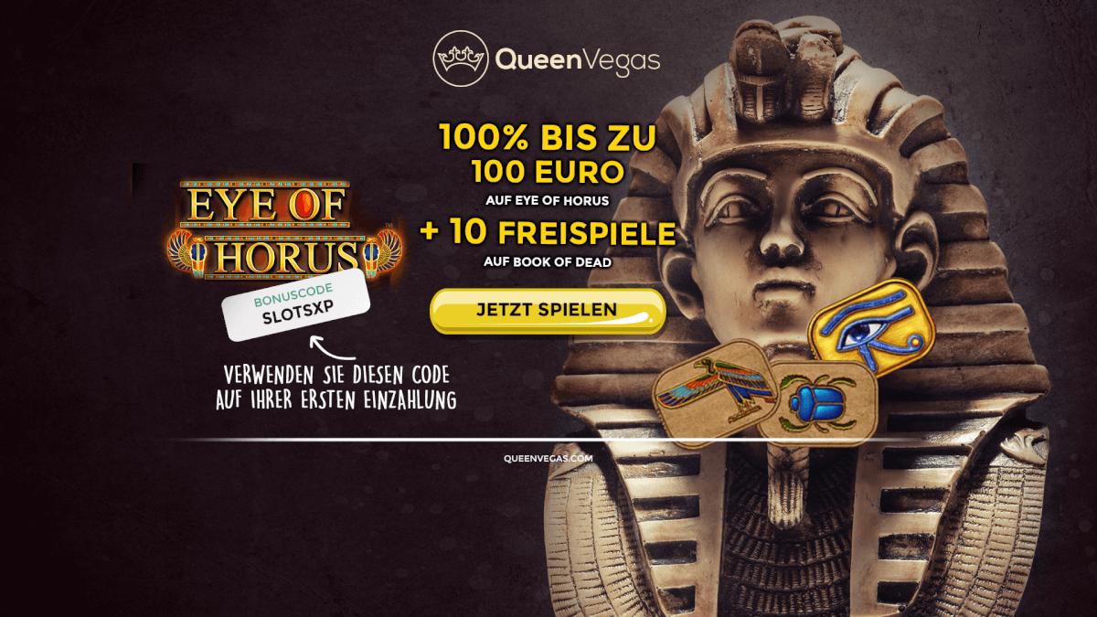 QueenVegas Bonuscode SLOTSXP