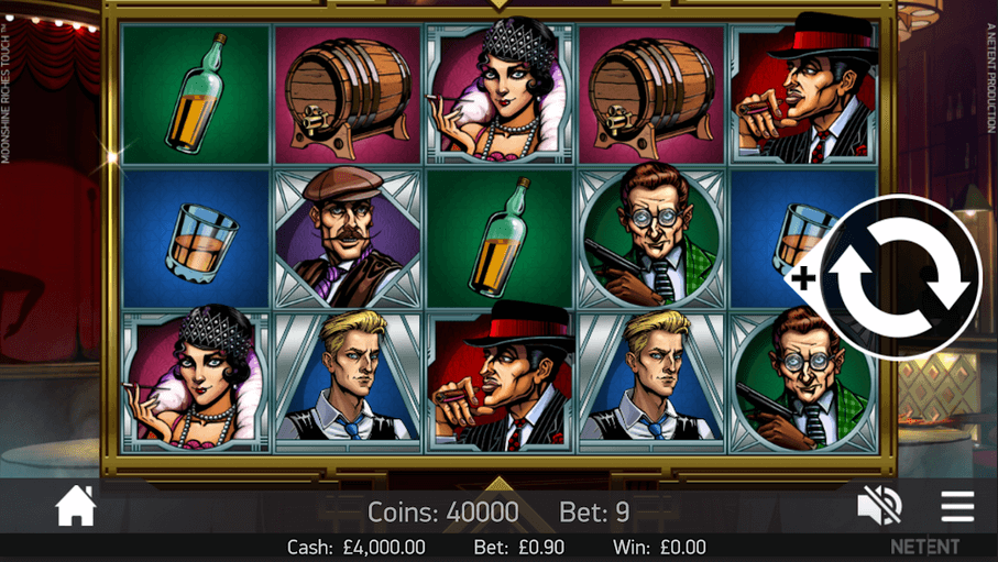 Moonshine Riches Slot mobil